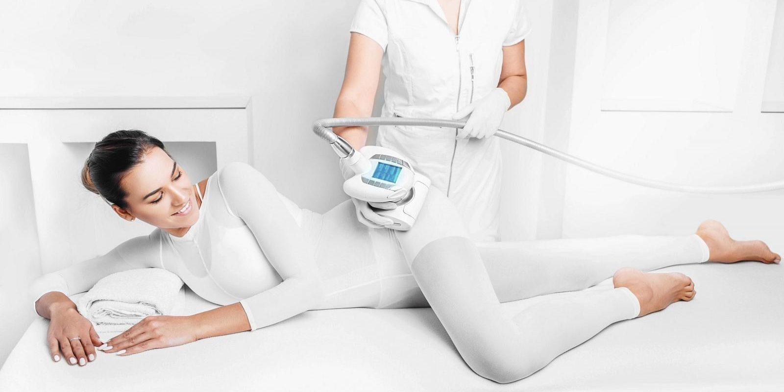 Körperformung mit apparative Lymphdrainage LPG-Massage