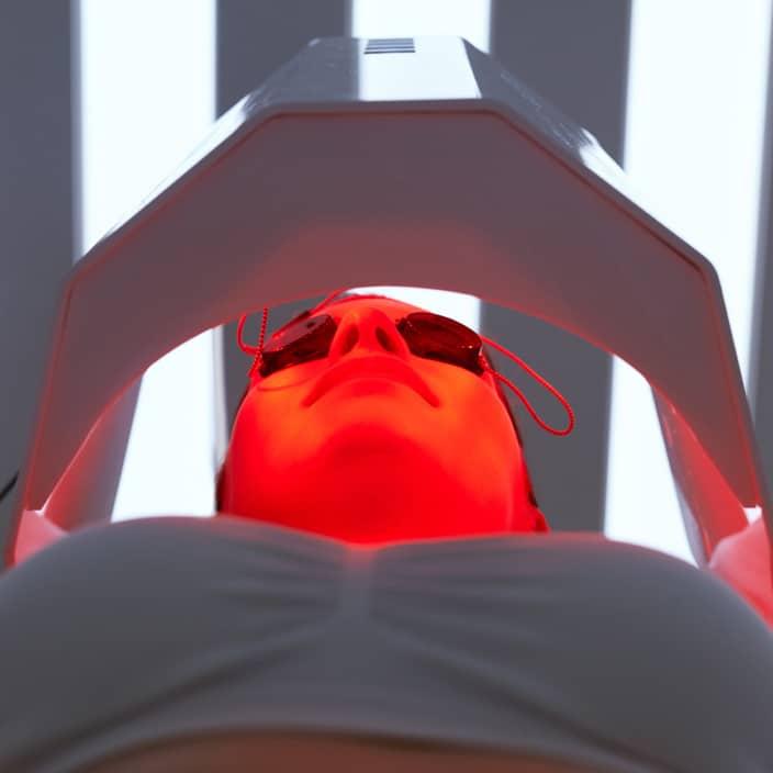 LED Licht Therapie